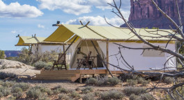 Enchanting Travels USA Tours Under Canvas Moab