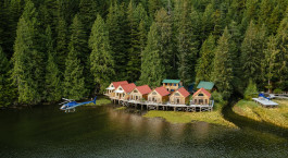 Enchanting Travels Canada Reise Hotel Nimmo Bay Resort