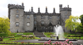 a castle on top of Kilkenny Castle