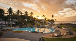 Sunset view, Pool, Daydream Island Resort, Australia