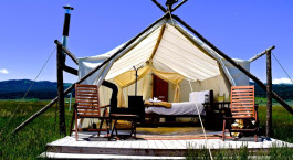 Enchanting Travels US Tours Hotel Under Canvas Yellowstone