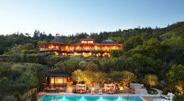 Enchanting Travels USA Tours Auberge du Soleil (Napa Valley, Rutherford)