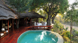 Pool im Imbali Safari Lodge in Kruger, Su00fcdafrika