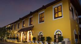 Outside view of Hotel Forte Kochi, Cochin, Kerala, India, Asia