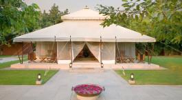 Luxuszelt im  Aman-i-Khas, Ranthambore in Nordindien