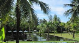 Auu00dfenansicht im Hotel The Sarojin in Khao Lak, Thailand