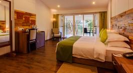 Zimmer im Wayanad Wild Hotel im Wayanad in Su00fcdindien