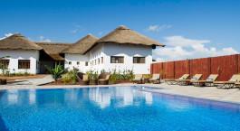 Pool im Farm House Valley Lodge in Arusha, Tanzania