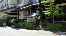 Auu00dfenansicht des Gora Sounkaku in Hakone, Japan