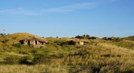 Auu00dfenansicht von Hotel Africa Amini Maasai Lodge,West Kilimanjaro Wildschutzgebiet, Tansania