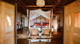 Zweibettzimmer im Nuarro Lodge in Memba Bay, Mosambik