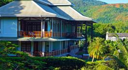 External view at Lu2019Archipel Hotel Deluxe in Praslin Island, Seychelles