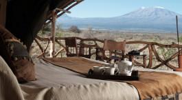 Zimmer im Hotel Satao Elerai in Amboseli, Kenya