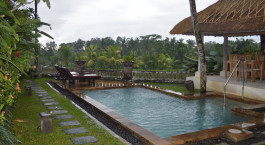Pool im Hotel Wapa di Ume, Ubud, Indonesien