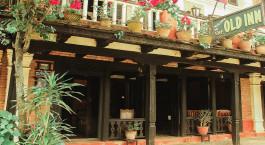 Auu00dfenansicht des The Old Inn in Bandipur, Nepal