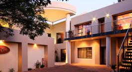 Enchanting Travels - Su00fcdafrika Reisen - Johannesburg-Pretoria - African Rock Hotel - Anwesen