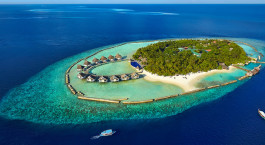Bird's eye view of Ellaidhoo Maldives by Cinnamon in Male, Maledives