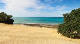 Strand in Quirimbas, Mosambik