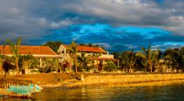 Auu00dfenansicht von Ibo Island Lodge, Quirimbas Archipel in Mosambik