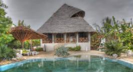 Pool im Hotel Msambweni House, Su00fcdku00fcste, Kenia