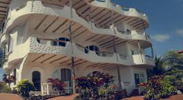 Auu00dfenansicht vom Hotel Angermeyer Waterfront Inn, Santa Cruz in  Ecuador/Galapagos