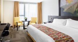 Doppelbettzimmer im Hotel Wyndham Quito Airport, Quito in Ecuador/Galapagos