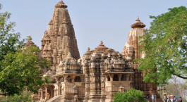 Khajuraho temple in Panna, Central & West India