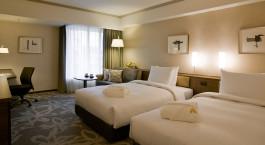 Doppelzimmer im Hotel Nikko Fukuoka in Fukuoka, Japan