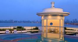 Auu00dfenansicht, Marine Plaza Hotel in Mumbai, Zentral- & Westindien
