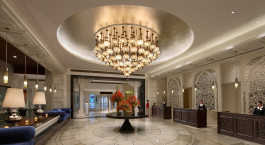 The Lobby, ITC Mughal Hotel Entrance, Agra, India, Asia