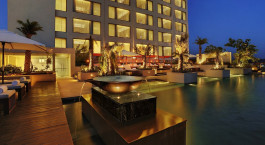 Pool im Hotel Hyatt Amritsar, Amritsar, Nordindien