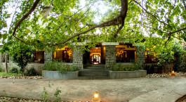 Rezeption Bandhav Vilas Bandhavgarh Indien