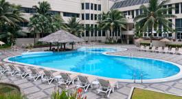 Pool im Hotel Hilton Colon in Guayaquil, Ecuador