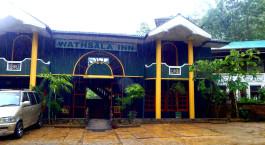 Auu00dfenansicht im Hotel Wathsala Inn, Adam's Peak, Sri Lanka