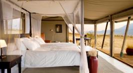 Zimmer der Wolwedans Dunes Lodge in Namib Rand Naturschutzgebiet, Namibia