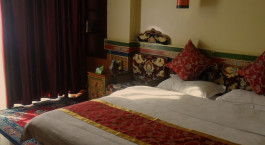 Zimmer im Hotel Gesar Hotel, Shigatse in Tibet