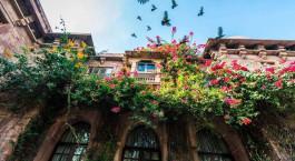 Auu00dfenansicht des Ranbanka Palace Jodhpur Hotels in Jodhpur, Nordindien