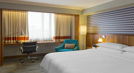 Doppelzimmer im Four Points By Sheraton Hotel in Delhi, Nordindien