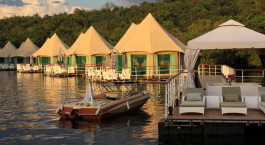 Enchanting Travels - Asien Reisen - Cambodia - 4 Rivers Floating Lodge - Auu00dfenansicht