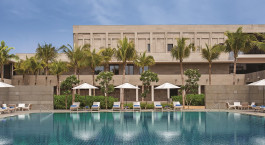 Swimmingpool im InterContinental Chennai Mahabalipuram Resort in Mamallapuram, Su00fcdindien