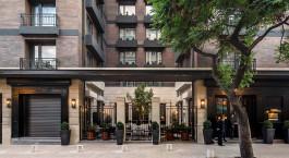 Auu00dfenansicht vom Hotel The Singular Santiago,  Santiago de Chile in Chile