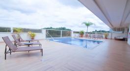 Swimmingpool im Nobile Suites Manaus Airport Hotel in Manaus, Brasilien