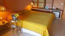 Zimmer im Hotel Porto da Lua Pousada, Praia do Forte in Brasilien