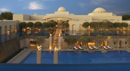 Swimmingpool im Trident Hotel Gurgaon Indien