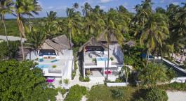 Auu00dfenansicht vom Hotel Upendo Sanzibar, Sansibar, Tansania