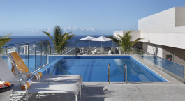 Pool im Hilton Rio de Janeiro Copacabana, Rio de Janeiro, Brasilien