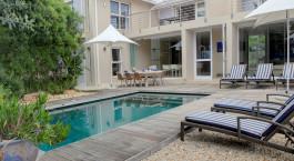 Pool im Starfish Plettenberg Bay Guest Lodge, Garden Route in Su00fcdafrika
