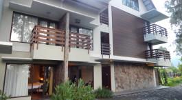 Auu00dfenansicht im Jiwa Jawa Resort Bromo Hotel in Indonesia, Mount Bromo