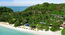 Strand von Zeavola Hotel, Koh Phi Phi, Thailand