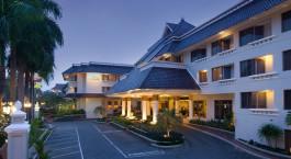Auu00dfenansicht im Hotel Santika Premiere Malang, Malang, Indonesia